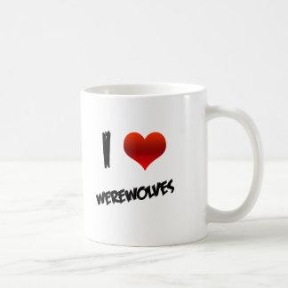 I Heart Werewolves Classic White Coffee Mug