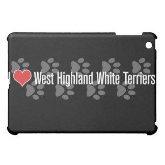 I (heart) West Highland White Terriers iPad Mini Cases