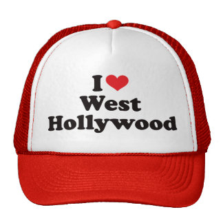 I Heart West Hollywood Trucker Hat