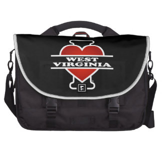 I Heart West Virginia Bags For Laptop