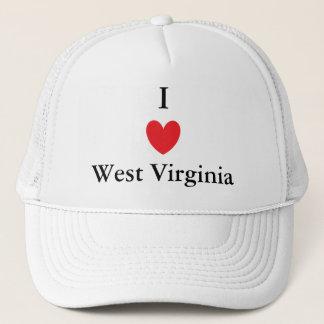 I Heart West Virginia Trucker Hat