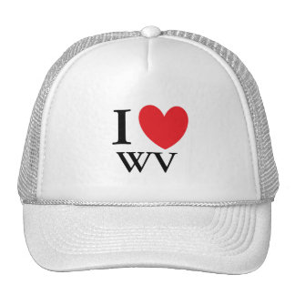I Heart West Virginia Trucker Hat