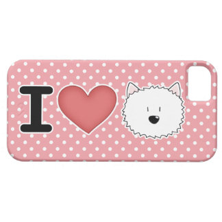 I (heart) westies iPhone 5 covers