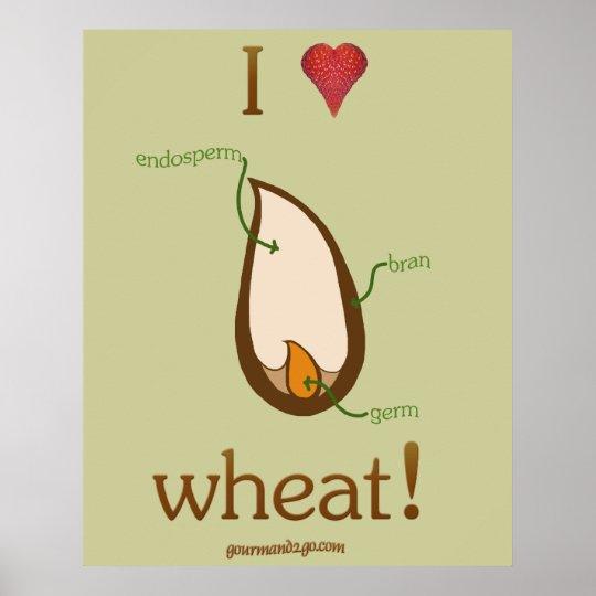I Heart Wheat! Poster