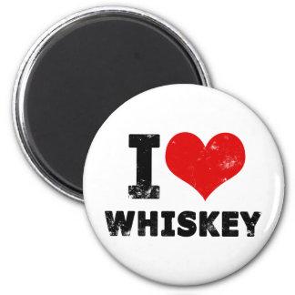 I Heart Whiskey Magnet