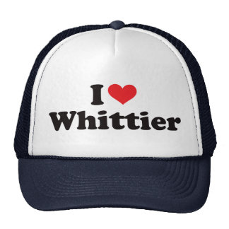 I Heart Whittier Trucker Hat