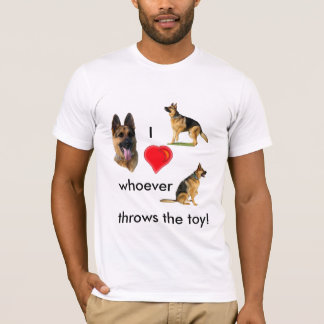 I Heart Whoever Throws The Toy T-Shirt