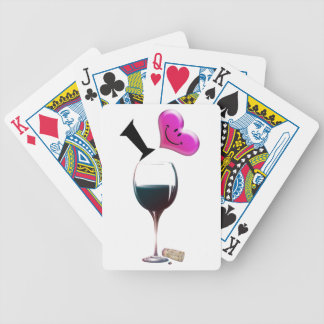 I Heart Wine Deck Of Cards
