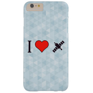 I Heart Wireless Reception Barely There iPhone 6 Plus Case
