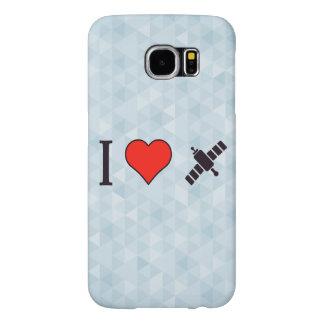 I Heart Wireless Reception Samsung Galaxy S6 Cases