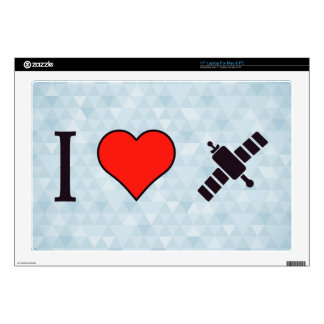 I Heart Wireless Reception Skins For Laptops