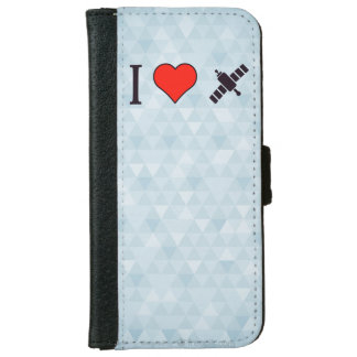 I Heart Wireless Reception Wallet Phone Case For iPhone 6/6s
