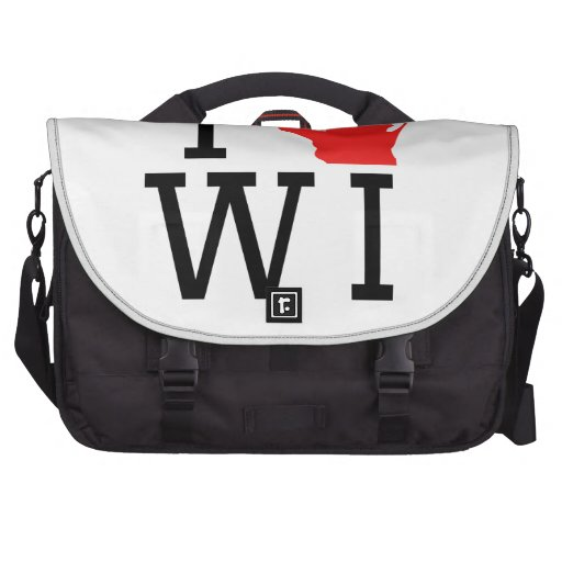 I Heart Wisconsin Bags For Laptop