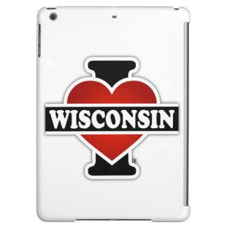 I Heart Wisconsin Case For iPad Air