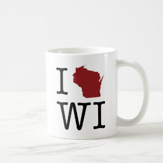 I Heart Wisconsin Coffee Mug