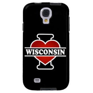 I Heart Wisconsin Galaxy S4 Case