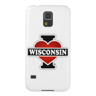I Heart Wisconsin Galaxy S5 Cover