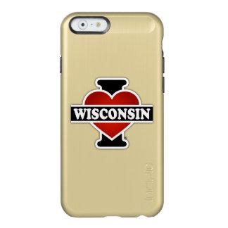 I Heart Wisconsin Incipio Feather Shine iPhone 6 Case