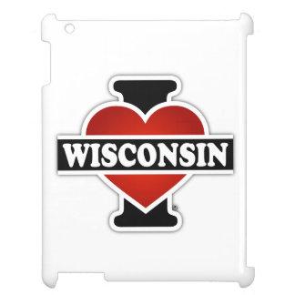 I Heart Wisconsin iPad Cases