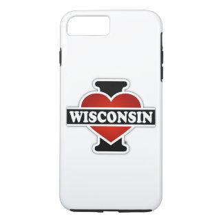 I Heart Wisconsin iPhone 8 Plus/7 Plus Case