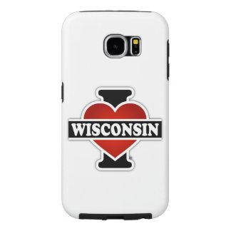 I Heart Wisconsin Samsung Galaxy S6 Case