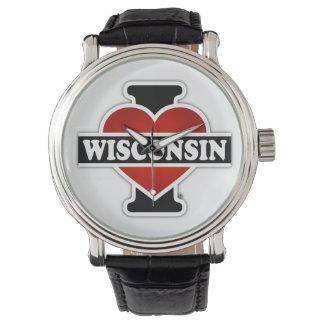 I Heart Wisconsin Watches