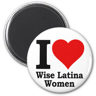 I (heart) Wise Latina Women Magnet