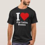 I (heart) Wise Latina Women T-Shirt