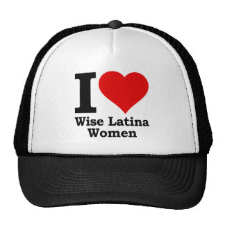 I (heart) Wise Latina Women Trucker Hat