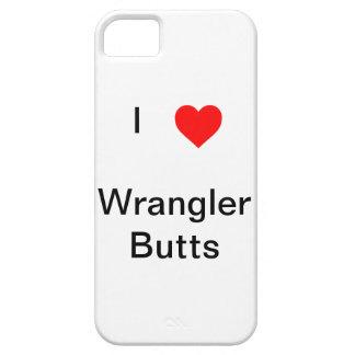 i heart wrangler butts iphone case