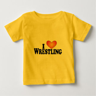 I (heart) Wrestling - Lite Mult-Products Baby T-Shirt