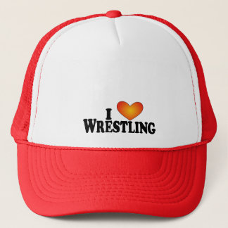 I (heart) Wrestling - Lite Mult-Products Trucker Hat