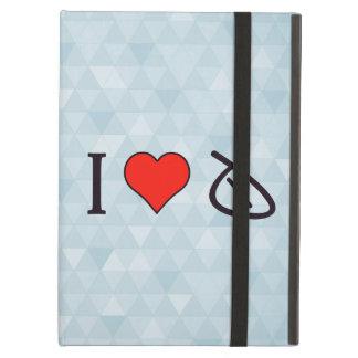 I Heart Wrong Marks iPad Air Cases