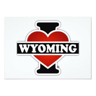 I Heart Wyoming Card