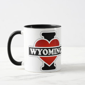 I Heart Wyoming Mug