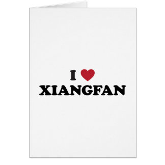 I Heart Xiangyang China Card