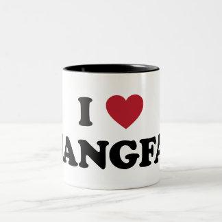 I Heart Xiangyang China Two-Tone Coffee Mug