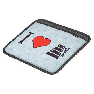 I Heart Xylophones Sleeves For iPads