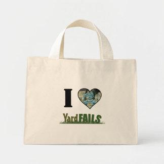 I Heart Yard Fails Mini Tote Bag