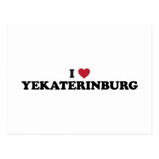 I Heart Yekaterinburg Russia Post Card