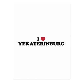 I Heart Yekaterinburg Russia Postcard