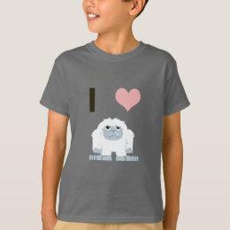 I heart yeti T-Shirt