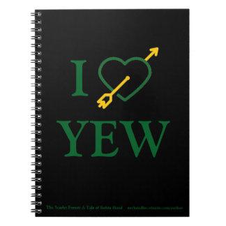 I *Heart* YEW Notebook