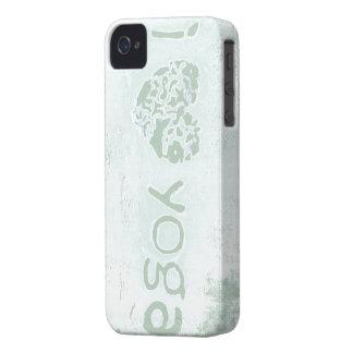 """i heart yoga"" iphone 4/4s case"