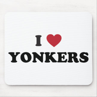 I Heart Yonkers New York Mouse Pad
