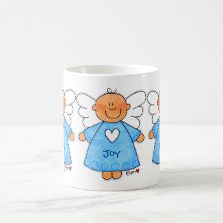 I Heart You Angel Love Joy Peace Classic White Mug