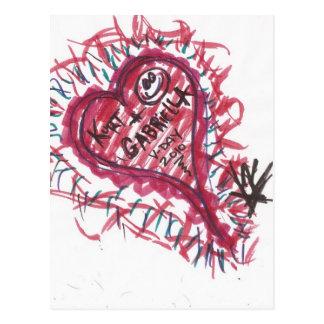 i HEARt YOU GABRIELLA V-DAY 2010 Postcard