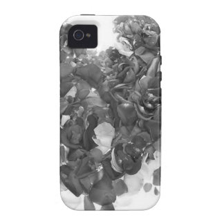 I HEART YOU (I LOVE YOU) - grey / red version Case-Mate iPhone 4 Covers