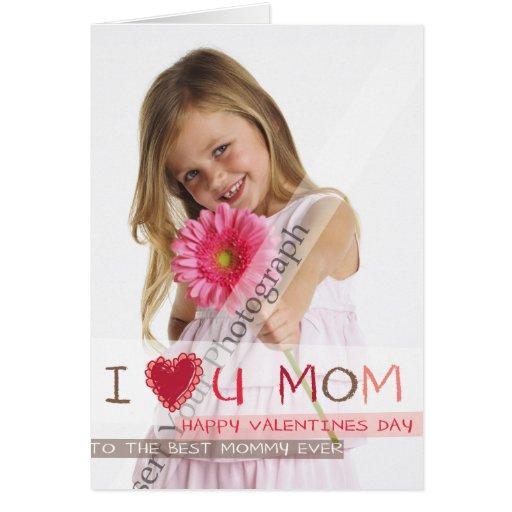 I heart you MOM Card