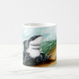 I heart you Sharktopus Coffee Mug